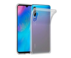 Cadorabo Case works with Huawei P30 in FULLY TRANSPARENT...