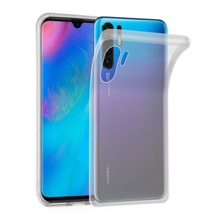 Cadorabo Hülle für Huawei P30 PRO in VOLL TRANSPARENT ?...